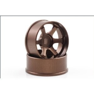 R246 Mini-Z AWD TE37 Bronze Wheel Narrow Off-Set 4.5mm