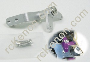 GPM Alloy Fuel Valve Mount Silver